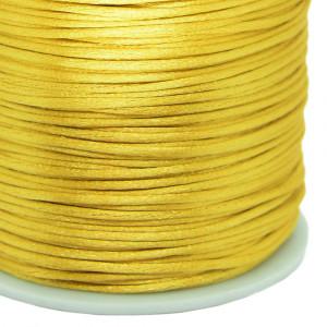 Fio de Seda, 1mm, Dourado
