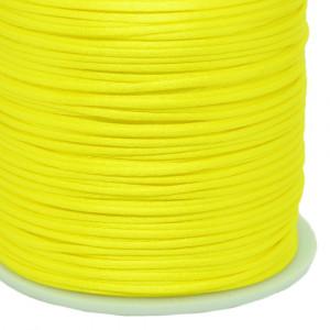Fio de Seda, 1mm, Amarelo Canário