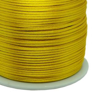 Fio de Seda, 1mm, Amarelo Ouro