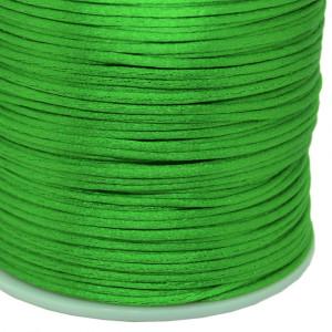 Fio de Seda, 1mm, Verde Folha