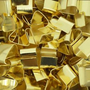 Terminal de Amassar, 15mm, Ouro