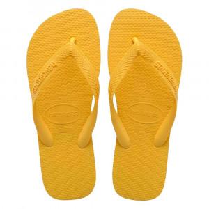 Sandálias Havaianas Top, Amarelo Ouro