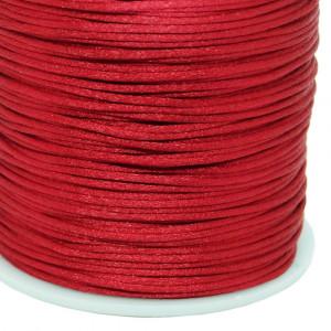 Fio de Seda, 1mm, Vermelho